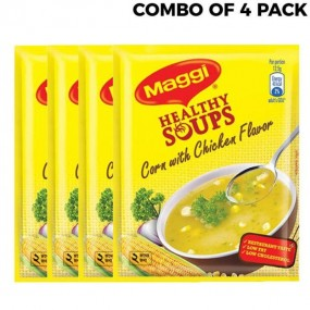 Maggi Healthy Soups Corn with Chicken Flavor 25gm Combo